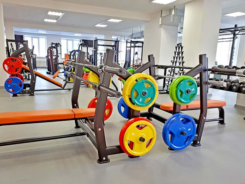 тренажерный зал Миасс, свободные веса